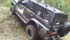 Off Road 4x4 - pasażer