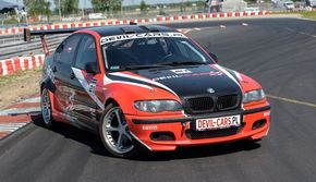 Jazda BMW M Power prezent
